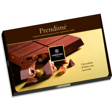 Prendimé Milk Chocolate with Hazelnuts